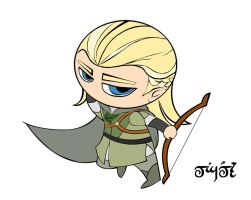 Chibi Legolas by Norloth