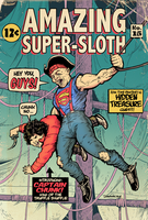 Amazing Super-Sloth - Covering The Covers by donovanalex