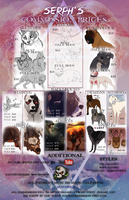 Commission Prices 2015 *CURRENTLY CLOSED* by Serphire