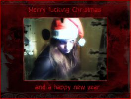 Have an evil christmas y'all. by malefique