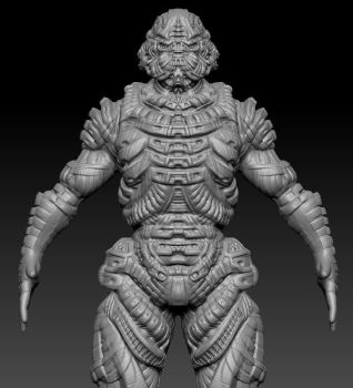 ZBrush Practice by UltimaFatalis