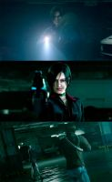 Resident Evil Damnation Collage 3 by Livy-Livy