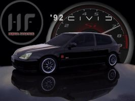 HF - 92 Civic si by jpfrizzle