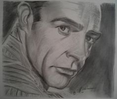 Sean Connery by cliford417