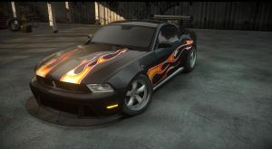 NFS the run sig etd mustang. razor by daz1200