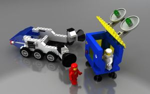 LEGO All Terrain Vehicle by zpaolo