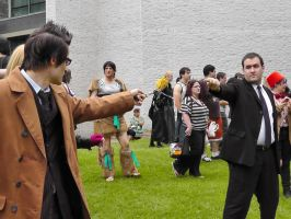 The Doctor and The Master at AnimeNEXT 2012 by FUBARProductions