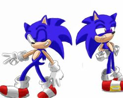 sonic sketches by SonicForTheWin1