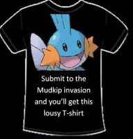 Submit to the Mudkip Invasion by alimination602