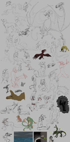 Sketch Dump Or Whatever 2 by xXNuclearXx