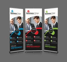 Roll Up Business Banners by Designhub719