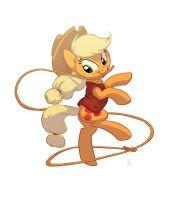 Bronycon print: Applejack by Siansaar