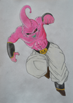 Kid Buu by M-art-ique