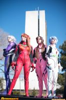 Evangelion Plug Suits by OtherNick