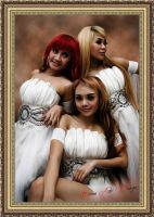 Trio Macan Style SMUDGE PAINTING by BamsDeviantART