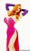 Jessica Rabbit costume preview by yayacosplay