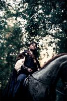 Mordred traveling to Camelot by Costurero-Real