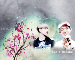 Yugyeom and JB - Take a breath by Black-DeathShade