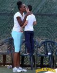 Venus Williams and tiny boyfriend by lowerrider