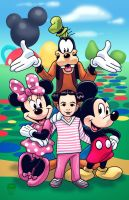 Mickey Mouse Clubhouse - Commission by EryckWebbGraphics