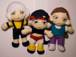 Three Lights Workout Plushies by sakkysa