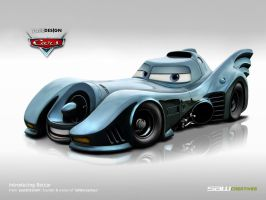 Disney Cars - Batcar by yasiddesign