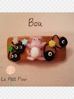 Bou Spirited Away Barrette by AngelicLight100