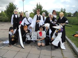 Animecon 2011: Bleach group by LaserdudeNo2
