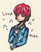 Love music ~ by Strawberry-lick