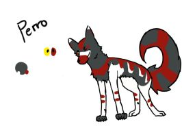 el perro refrence sheet by ForTheLoveOfWalrus