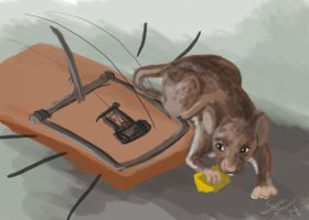 Spitpaint 004: Mouse Adventurer by selkie-gal