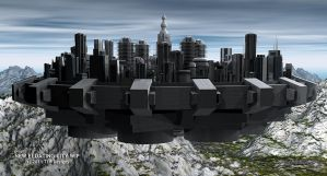 New Floating City WIP 3 by TLBKlaus