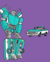 Kup earth mode colored by Charger426