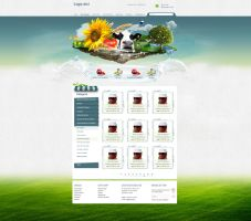 Nature natural agriculture e commerce shop online by Lintza