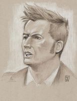 David Tennant as The Doctor by The-Tinidril