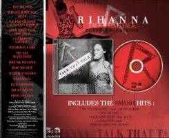 Rihanna Album Art ''Talk That Talk'' by Toblerone22