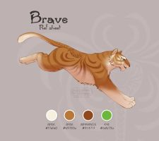 Brave's Ref Sheet by apples-ishness
