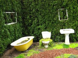 Nature Bathroom by Danika-Stock