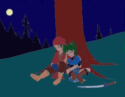 Rath and Lyn by beasert