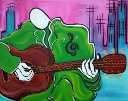Music Man by barbosaart