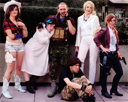 Resident Evil Revelations 2 Cast | Otakon 2015 by HopeHavoc