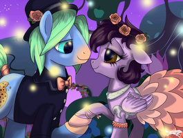 Commission-At The Gala by LostInTheTrees