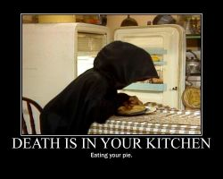 Death Is In Your Kitchen by Gaaralover1000096