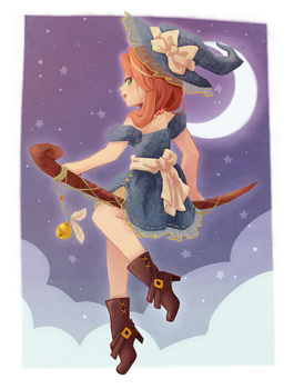 Little Witch by Assbread