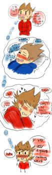 Eddsworld - TomTord - Tord is bad at lying by TimelessUniverse