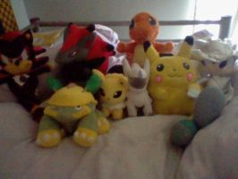 Bed Buddies :D by PikaPlatinum
