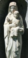 Mount Olivet Cemetery Mary 137 by Falln-Stock