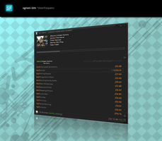 ogreen slim foobar panels_ui by stoerfrequenz