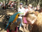 Macaw and I at Ren Fest, preen by AkizuRyuuri