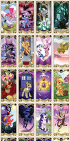 My Little pony Tarot card by kairean